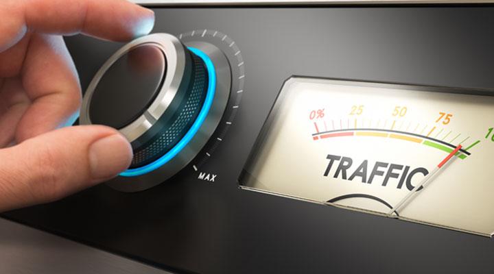 Increase relevant website traffic